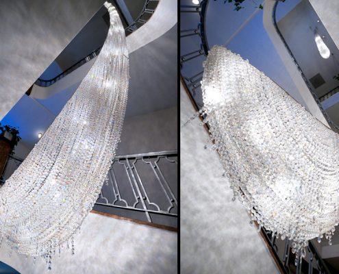 定制水晶作品 – Icefall