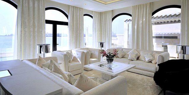 迪拜的豪华别墅, Manooi Crystal Chandeliers
